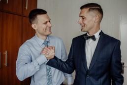 Kasia i Paweł - Magiczny leśny plener - wesele w hotelu Szara Willa 5