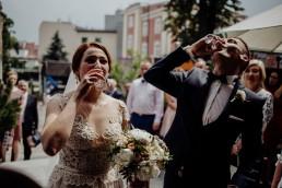Kasia i Paweł - Magiczny leśny plener - wesele w hotelu Szara Willa 71