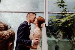 Kasia i Paweł - Magiczny leśny plener - wesele w hotelu Szara Willa 88