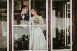 Fotografia ślubna - Piękny zimowy ślub i plener Gosi i Sebastiana 61