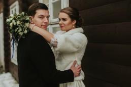 Fotografia ślubna - Piękny zimowy ślub i plener Gosi i Sebastiana 63