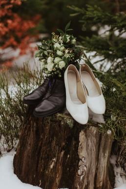 Fotografia ślubna - Piękny zimowy ślub i plener Gosi i Sebastiana 67
