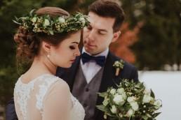 Fotografia ślubna - Piękny zimowy ślub i plener Gosi i Sebastiana 74