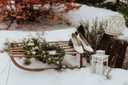 Fotografia ślubna - Piękny zimowy ślub i plener Gosi i Sebastiana 68