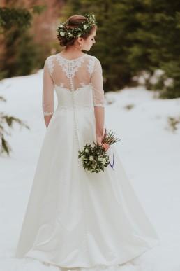 Fotografia ślubna - Piękny zimowy ślub i plener Gosi i Sebastiana 70