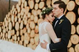 Fotografia ślubna - Piękny zimowy ślub i plener Gosi i Sebastiana 75