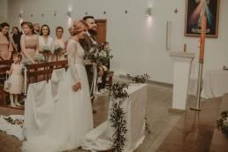 Natalia i Łukasz - Rustykalny ślub - Dworek Komorno - Szklarnia słoneczników - Pole lawendy 60