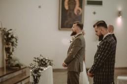 Natalia i Łukasz - Rustykalny ślub - Dworek Komorno - Szklarnia słoneczników - Pole lawendy 65