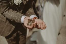 Natalia i Łukasz - Rustykalny ślub - Dworek Komorno - Szklarnia słoneczników - Pole lawendy 102