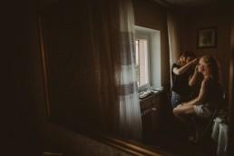 Natalia i Łukasz - Rustykalny ślub - Dworek Komorno - Szklarnia słoneczników - Pole lawendy 16