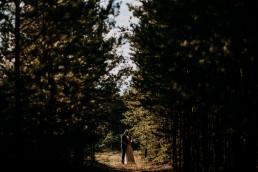 Kasia i Paweł - Magiczny leśny plener - wesele w hotelu Szara Willa 134
