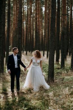 Kasia i Paweł - Magiczny leśny plener - wesele w hotelu Szara Willa 119
