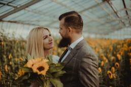 Natalia i Łukasz - Rustykalny ślub - Dworek Komorno - Szklarnia słoneczników - Pole lawendy 210