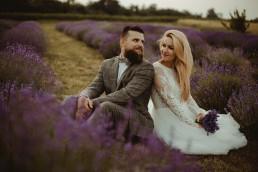 Natalia i Łukasz - Rustykalny ślub - Dworek Komorno - Szklarnia słoneczników - Pole lawendy 247