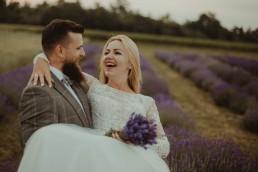Natalia i Łukasz - Rustykalny ślub - Dworek Komorno - Szklarnia słoneczników - Pole lawendy 249