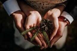 Kasia i Paweł - Magiczny leśny plener - wesele w hotelu Szara Willa 123