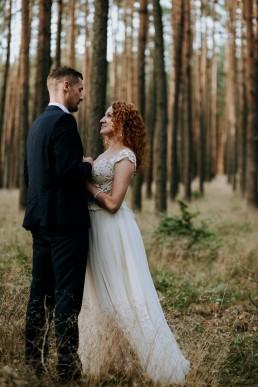 Kasia i Paweł - Magiczny leśny plener - wesele w hotelu Szara Willa 116