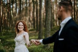 Wspaniały plener ślubny w stylu boho pod Opolem