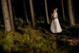 Kasia i Paweł - Magiczny leśny plener - wesele w hotelu Szara Willa 127