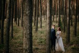 Kasia i Paweł - Magiczny leśny plener - wesele w hotelu Szara Willa 117