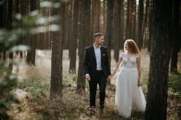 Kasia i Paweł - Magiczny leśny plener - wesele w hotelu Szara Willa 118