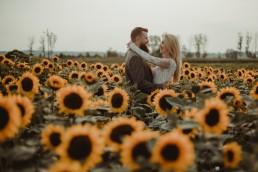 Natalia i Łukasz - Rustykalny ślub - Dworek Komorno - Szklarnia słoneczników - Pole lawendy 230