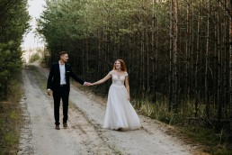 Kasia i Paweł - Magiczny leśny plener - wesele w hotelu Szara Willa 132