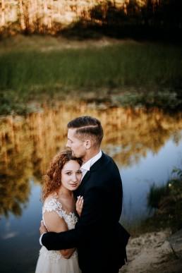 Kasia i Paweł - Magiczny leśny plener - wesele w hotelu Szara Willa 133