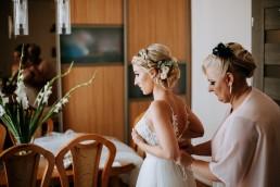 Ola i Mateusz - ślub w Głogówku - plener na Biskupiej Kopie - Restauracja Lerch 49