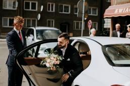 Ola i Mateusz - ślub w Głogówku - plener na Biskupiej Kopie - Restauracja Lerch 59