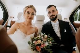 Ola i Mateusz - ślub w Głogówku - plener na Biskupiej Kopie - Restauracja Lerch 71