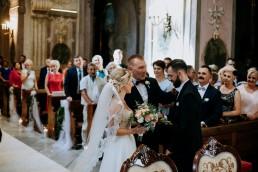 Ola i Mateusz - ślub w Głogówku - plener na Biskupiej Kopie - Restauracja Lerch 79