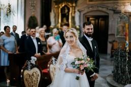 Ola i Mateusz - ślub w Głogówku - plener na Biskupiej Kopie - Restauracja Lerch 80