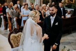 Ola i Mateusz - ślub w Głogówku - plener na Biskupiej Kopie - Restauracja Lerch 84