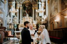 Ola i Mateusz - ślub w Głogówku - plener na Biskupiej Kopie - Restauracja Lerch 88