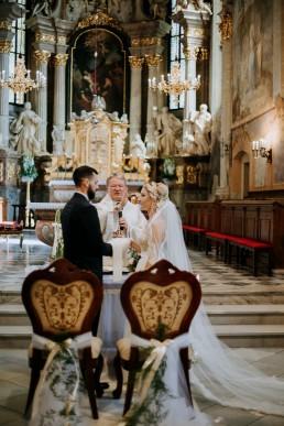 Ola i Mateusz - ślub w Głogówku - plener na Biskupiej Kopie - Restauracja Lerch 89