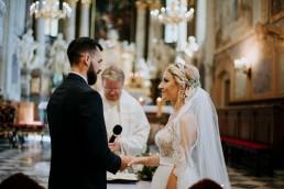 Ola i Mateusz - ślub w Głogówku - plener na Biskupiej Kopie - Restauracja Lerch 90