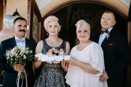 Ola i Mateusz - ślub w Głogówku - plener na Biskupiej Kopie - Restauracja Lerch 123