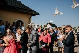 Ola i Mateusz - ślub w Głogówku - plener na Biskupiej Kopie - Restauracja Lerch 136