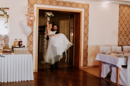 Ola i Mateusz - ślub w Głogówku - plener na Biskupiej Kopie - Restauracja Lerch 138