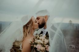 Ola i Mateusz - ślub w Głogówku - plener na Biskupiej Kopie - Restauracja Lerch 235