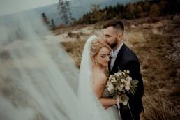 Ola i Mateusz - ślub w Głogówku - plener na Biskupiej Kopie - Restauracja Lerch 238