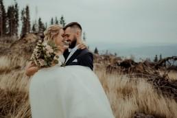 Ola i Mateusz - ślub w Głogówku - plener na Biskupiej Kopie - Restauracja Lerch 240