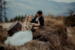 Ola i Mateusz - ślub w Głogówku - plener na Biskupiej Kopie - Restauracja Lerch 3
