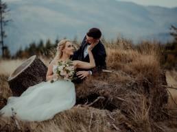 Ola i Mateusz - ślub w Głogówku - plener na Biskupiej Kopie - Restauracja Lerch 9