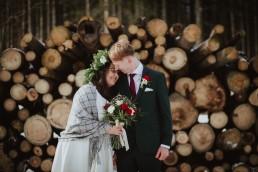 Zimowy ślub - Ania i Denis - Ślub w Tułowicach, Wesele w Hotelu Arkas 1