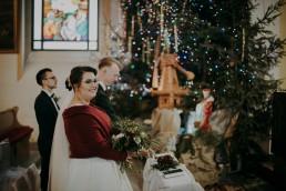 Zimowy ślub - Ania i Denis - Ślub w Tułowicach, Wesele w Hotelu Arkas 27