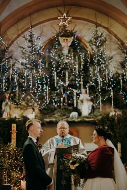 ślub podczas świąt
