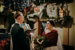 Zimowy ślub - Ania i Denis - Ślub w Tułowicach, Wesele w Hotelu Arkas 28