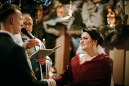 świąteczny ślub